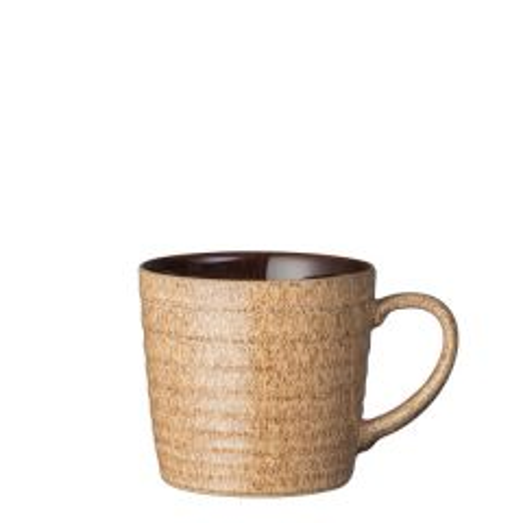 Denby Studio Craft Walnut / Elm Alt Ridged Mug 14oz / 40cl