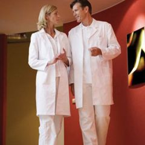 White Lab Coat Size Medium