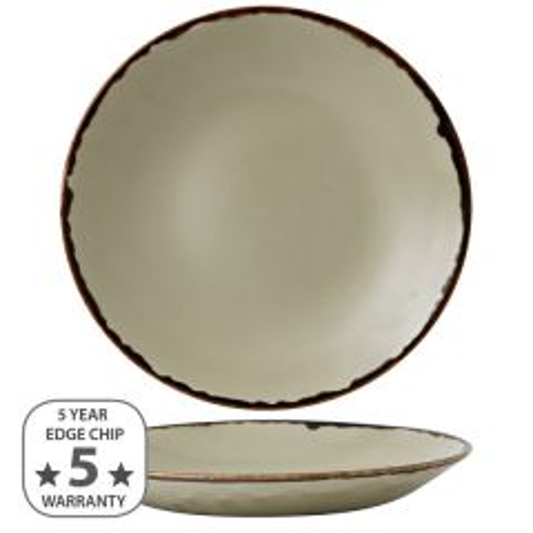 """Dudson Harvest Linen Deep Coupe Plate 11"""" / 28.1cm"""