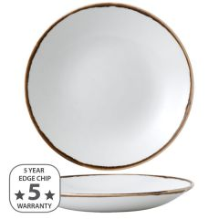 """Dudson Harvest Natural Deep Coupe Plate 11"""" / 28.1cm"""
