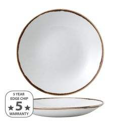 """Dudson Harvest Natural Deep Coupe Plate 10"""" / 25.5cm"""