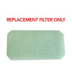 Replacement Filters Only For Reusable Black Cloth Mask