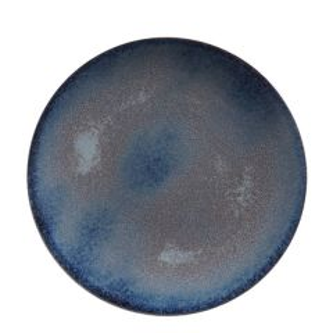 "Royal Crown Derby Rebel Dark Blue Coupe Plate 10"" / 25.5cm"
