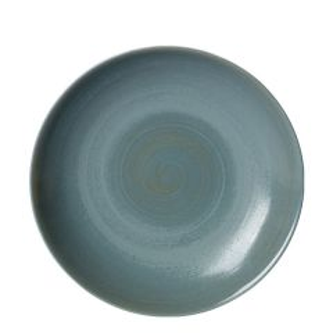 "Royal Crown Derby Studio Glaze Ocean Whisper Coupe Bowl 10"" / 25.5cm"