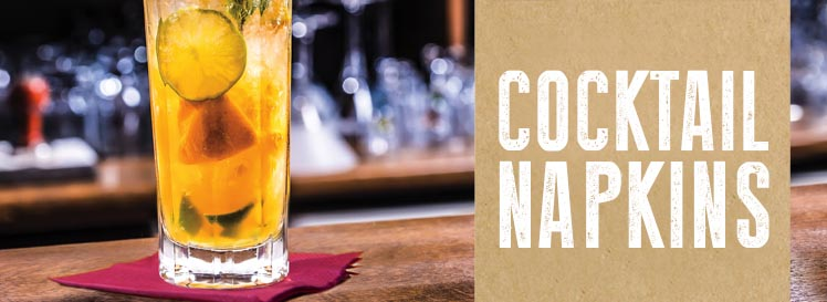 Cocktail Napkins Banner