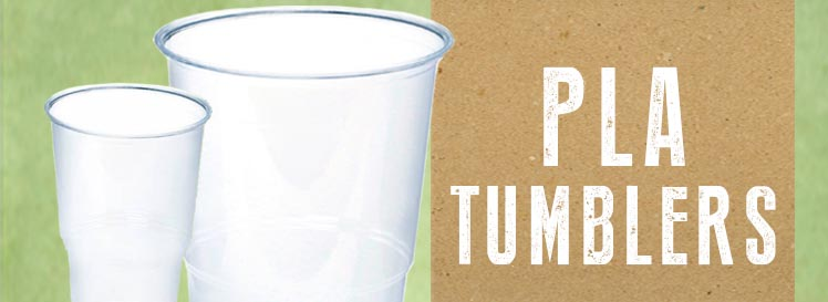 PLA DISPOSABLE PLASTIC TUMBLERS