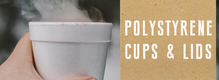 Polystyrene Cups Banner