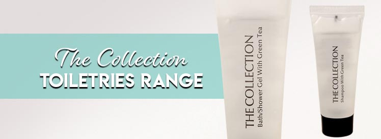 The Collection Range Toiletries Header Banner