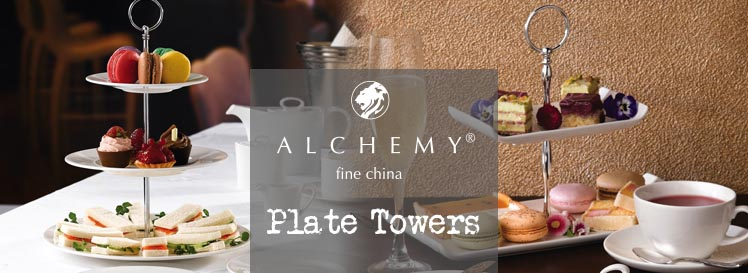 alchemy fine china plate towers