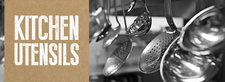 Kitchen Utensils from Stephensons Catering Suppliers