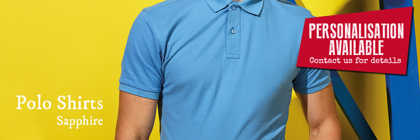 Polo Shirts Sapphire