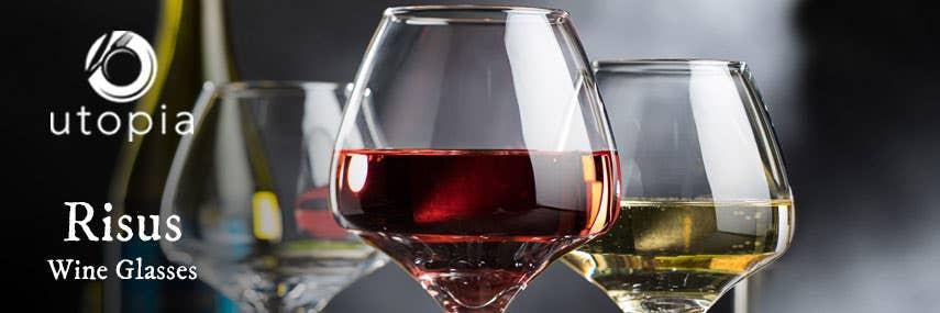 Utopia Risus Wine Glasses