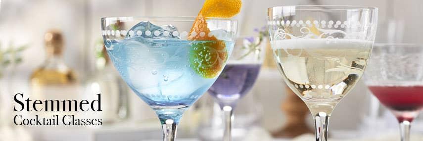 Stemmed Cocktail Glasses