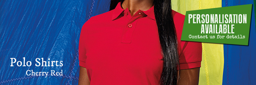 Polo Shirt Cherry Red