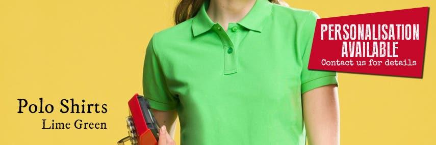 Polo Shirt Lime Green