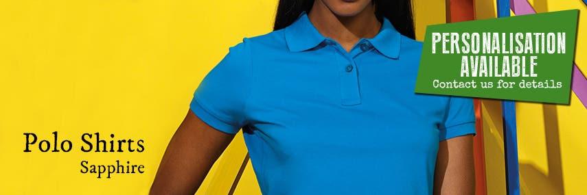 Polo Shirt Sapphire