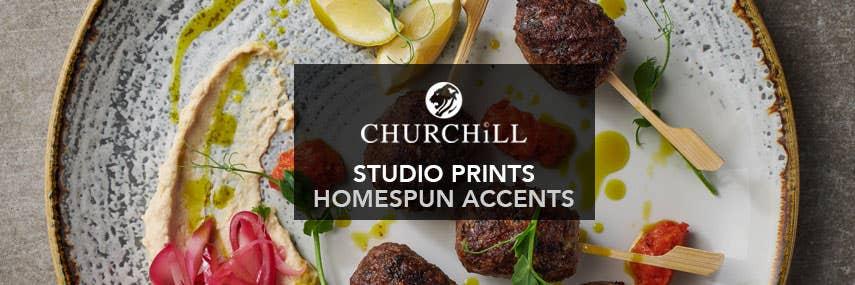 Churchill Studio Prints Homespun Accents