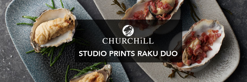 Churchill Studio Prints Raku Duo