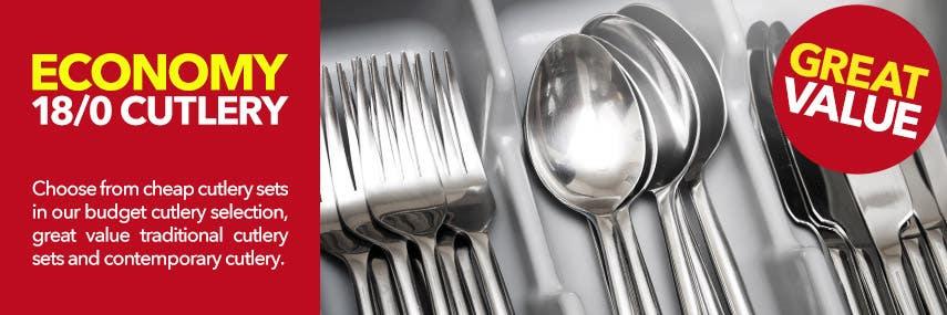 Economy 18/0 Cutlery