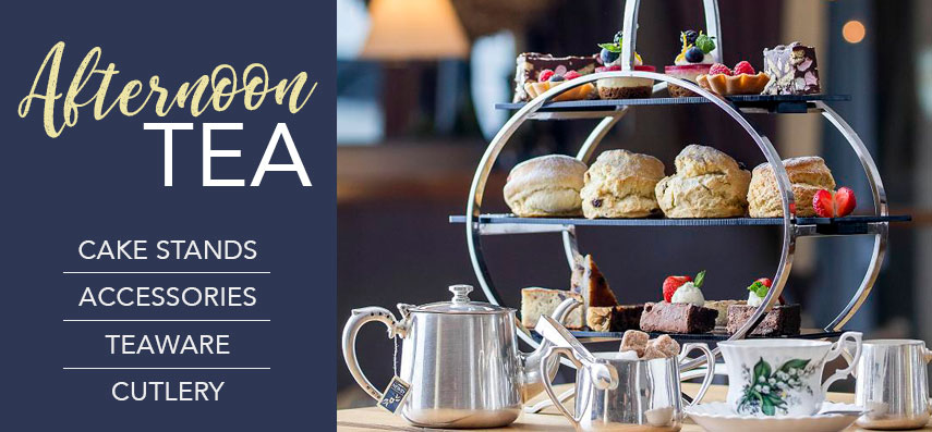 Afternoon Tea and Cake Accessories from Stephensons Catering Suppliers