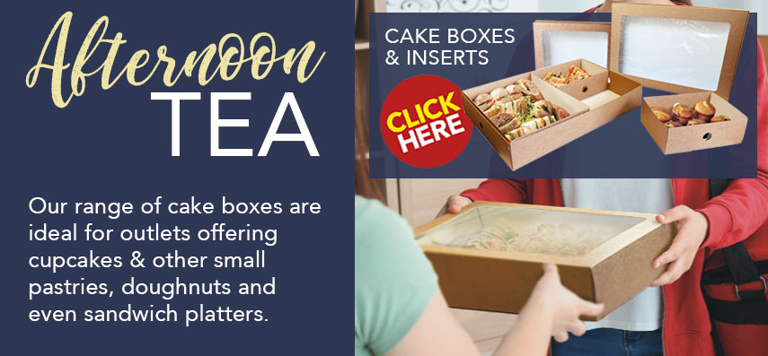 Cake Boxes and Cases from Stephensons Catering Equipment Suppliers