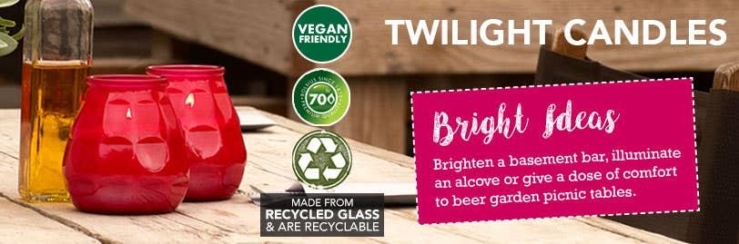 Bolsius Twilight Candle Bright Ideas