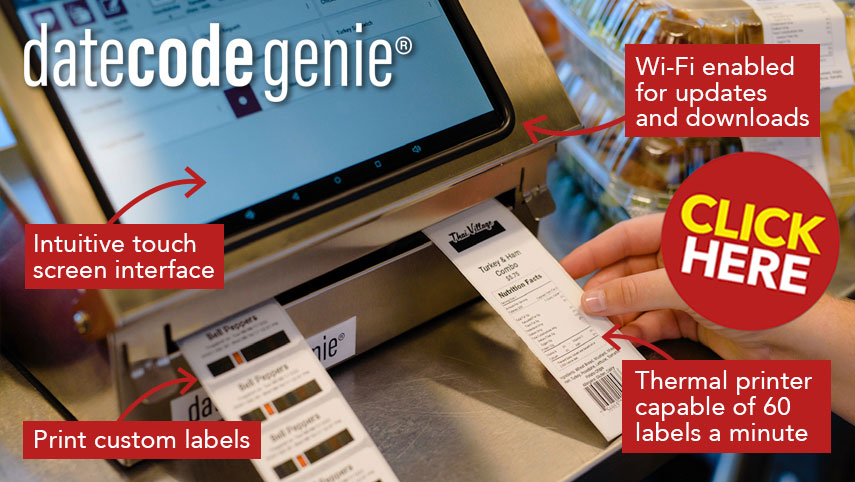 Date Code Genie Labelling System