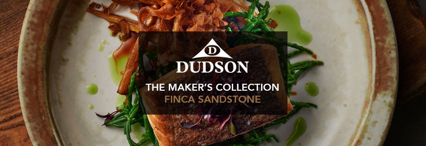Dudson Makers Collection Finca Sandstone Crockery from Stephensons Catering Suppliers