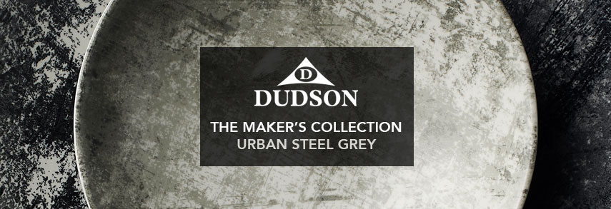 Dudson Makers Collection Urban Steel Grey