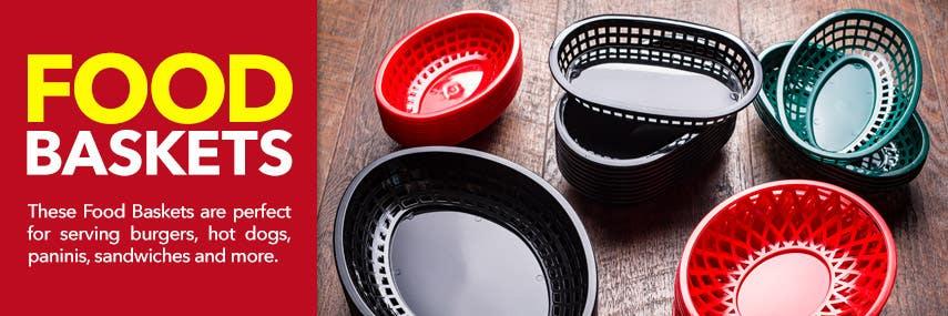 Food Serving Baskets