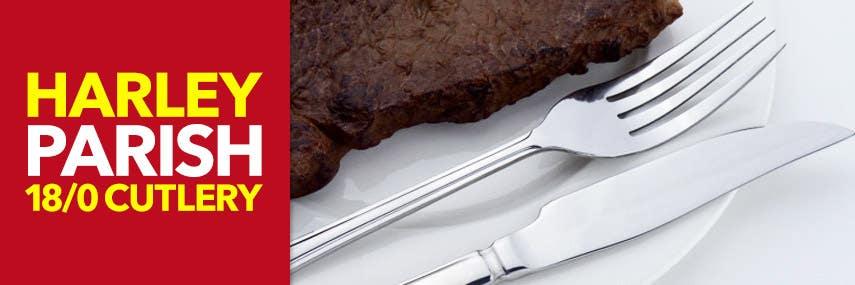 Harley Parish 18/0 Stainless Steel Cutlery