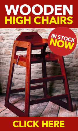 Wooden High Chairs In Stock Now