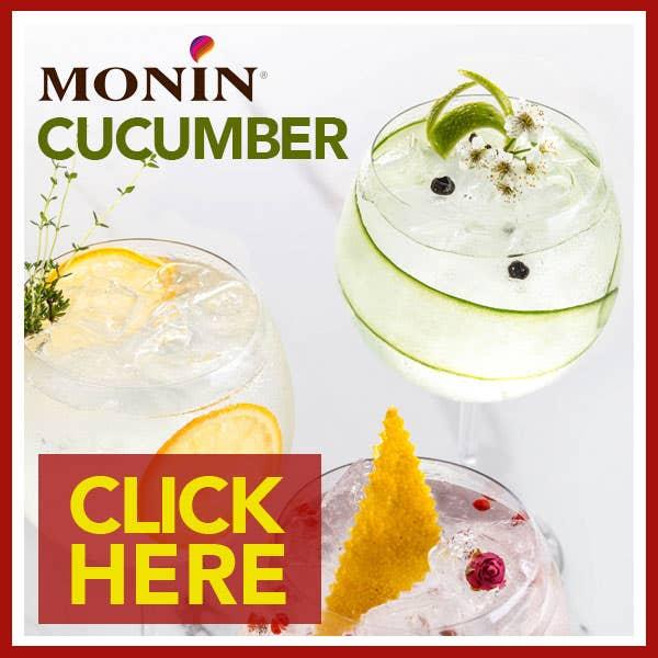 Monin Cucumber Syrups