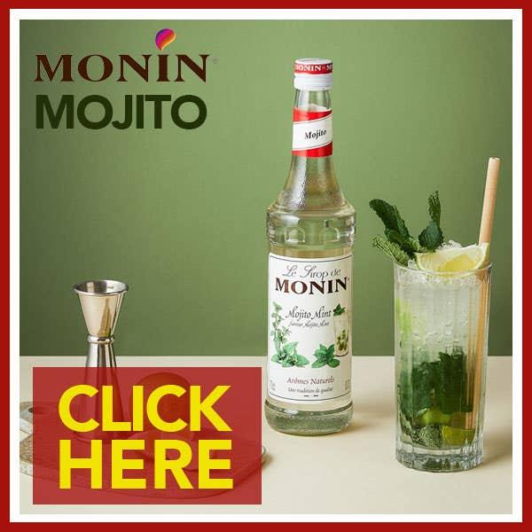 Monin Mojito Mint Syrups