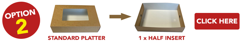 Kraft Platter Boxes and Inserts