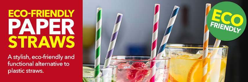 Eco-Friendly Paper Straws from Stephensons