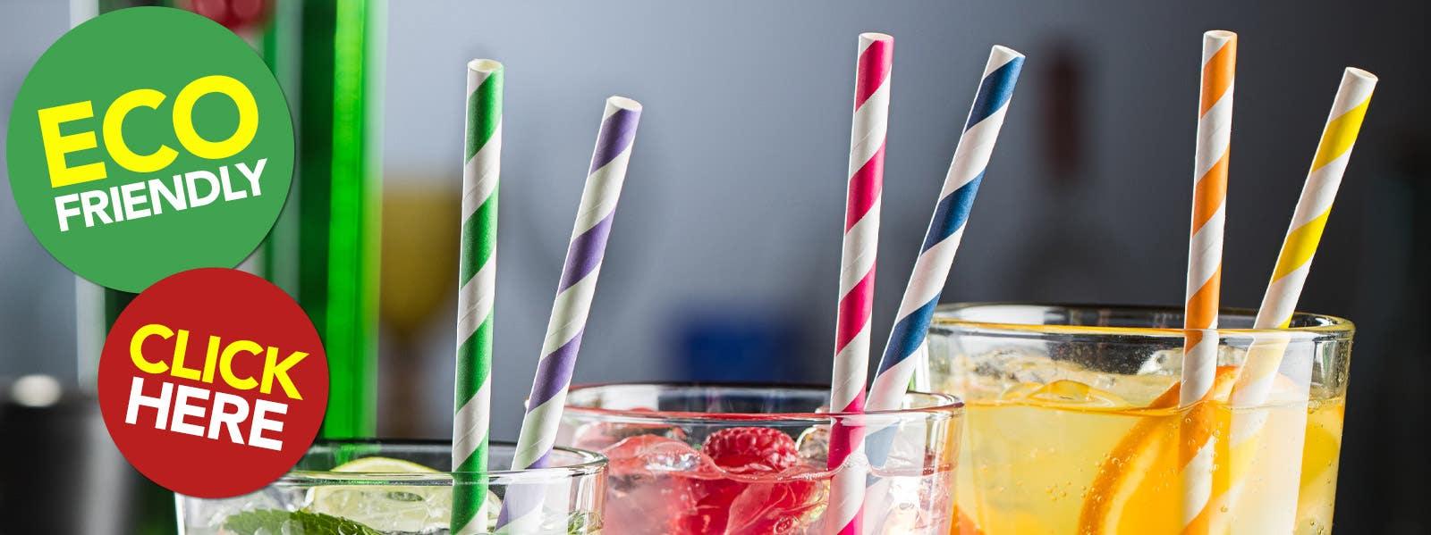 Eco-Friendly Paper Straws