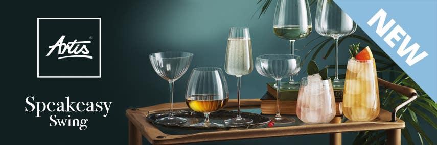 Artis Speakeasy Swing Glassware