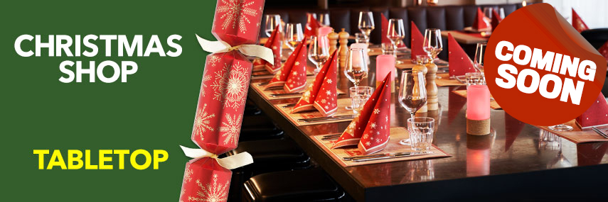 Christmas Tabletop Catering Equipment from Stephensons Catering Suppliers