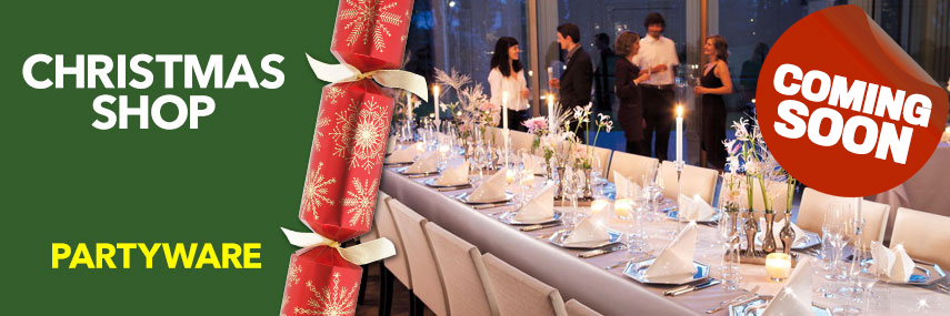 Christmas Partyware from Stephensons Catering Suppliers