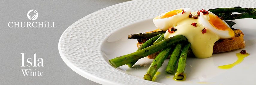 Churchill Isla Quality Catering Crockery from Stephensons Catering Suppliers