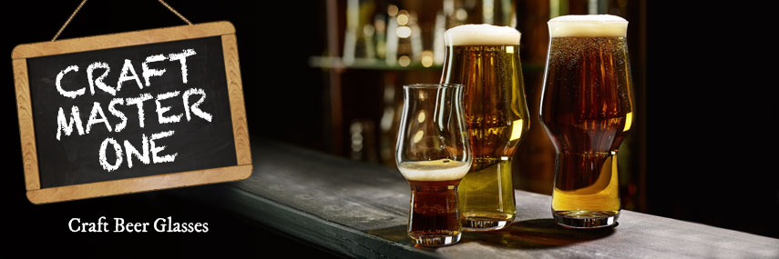 Craft Master One Craft Beer Glasses from Stephensons Catering Equipment