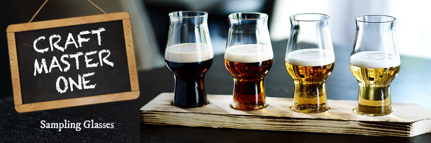 Craft Master One Craft Beer Sampling Glasses from Stephensons Catering Equipment