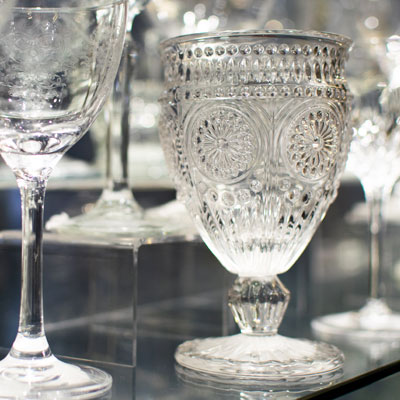 Get to grips with a massive range of glassware suitable for all settings