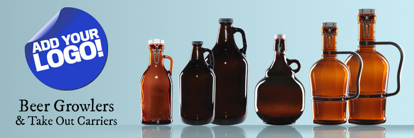 Beer Growlers & Take Out Carriers from Stephensons Catering Suppliers