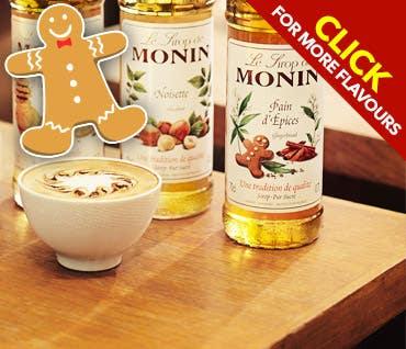 Monin Gingerbread Syrup