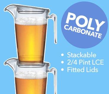 Stackable Polycarbonate Jugs