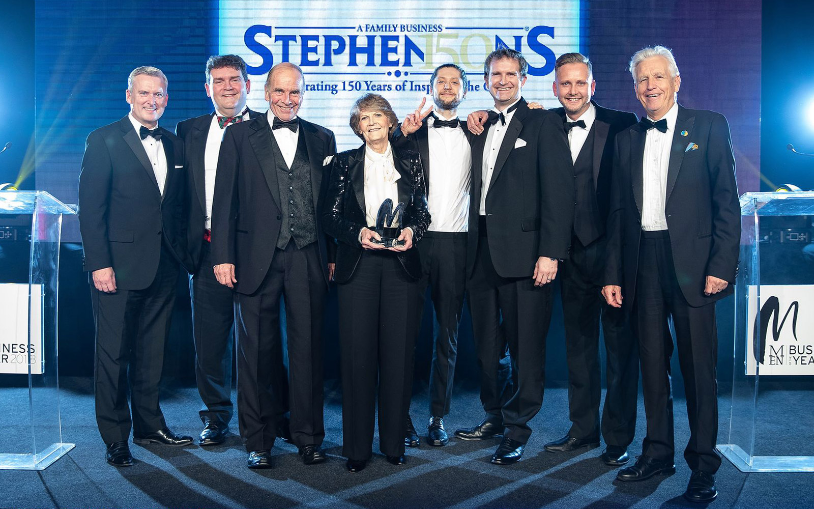 Stephensons were proud to be win the 2018 Manchester Evening News Business of the Year Award