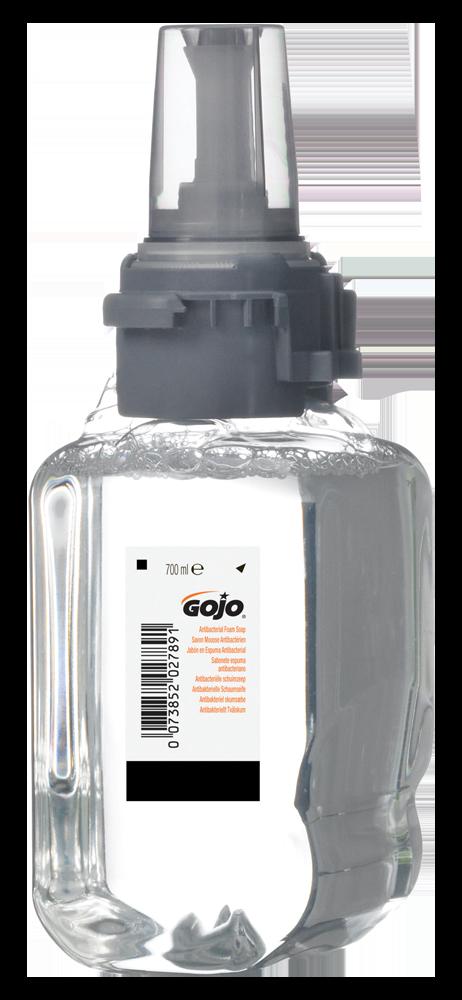 Gojo Mild Antimicrobial Foam Handsoap Soap 700ml For ADX-7 Manual Dispenser