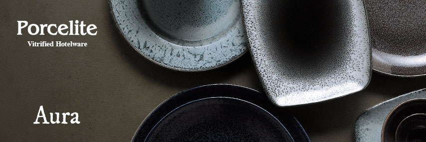 Porcelite Aura Value Rustic Crockery from Stephensons Catering Suppliers